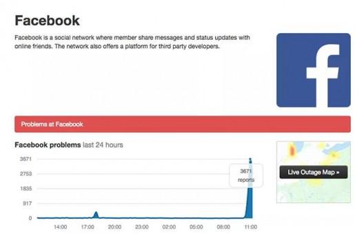 Brasil: Facebook e Instagram ficam fora do ar e apresentam instabilidade