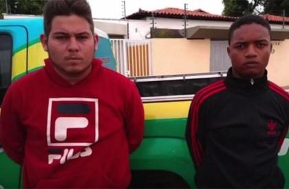 Dupla é presa com arma de fogo, drogas e mais de R$ 6 mil em dinheiro
