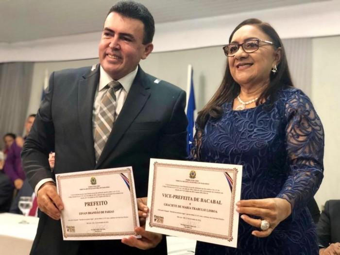 Edvan Brandão é diplomado e toma posse como Prefeito de Bacabal