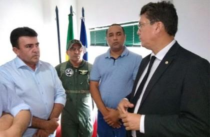 Edvan Brandão reúne-se com secretário de Segurança do MA...