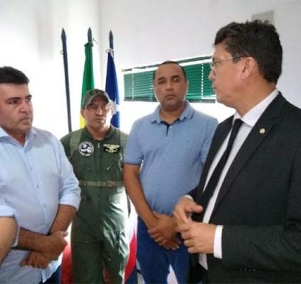 Edvan Brandão reúne-se com secretário de Segurança...