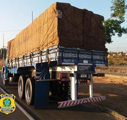 Madeira transportada sem licença ambiental é apreendida...