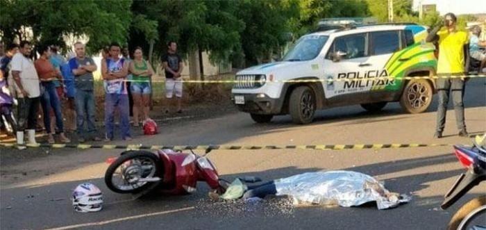 Mulher morre após ter cabeça esmagada em acidente em Picos