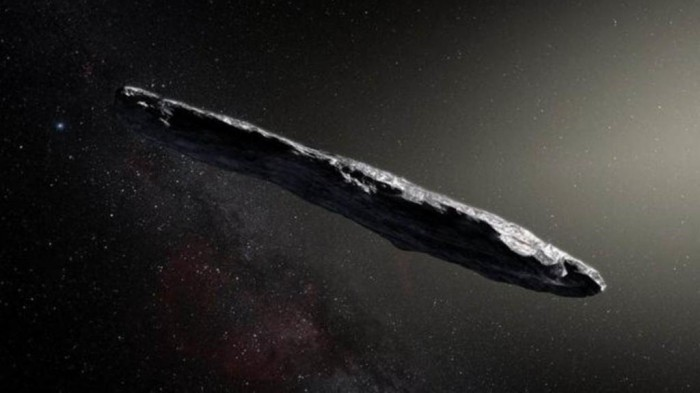 Objeto interestelar pode ter sido enviado por alienígenas, dizem pesquisadores