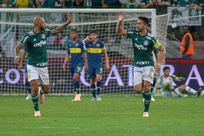 Palmeiras luta, mas é eliminado na Copa Libertadores