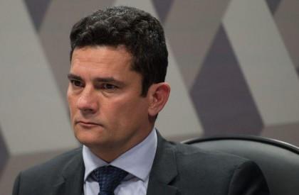 Sergio Moro chega ao Rio para conversar com Bolsonaro