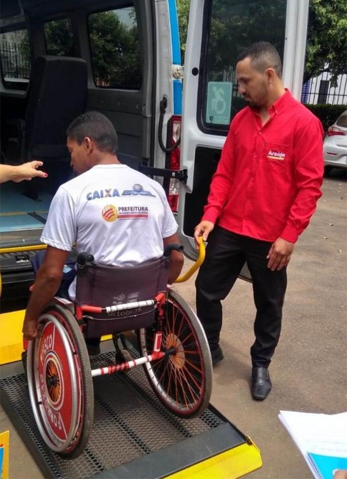 Serviço de Travessia para deficientes chega a Bacabal