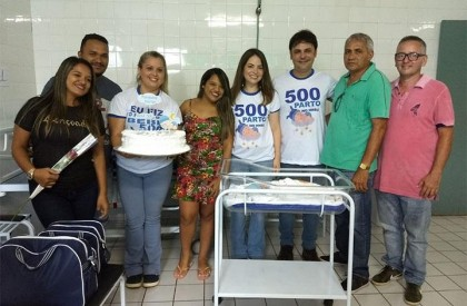 José de Freitas realiza 500 partos em menos de...