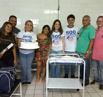 José de Freitas realiza 500 partos em...