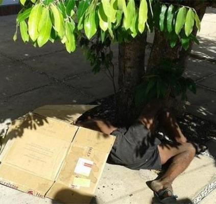 Morador de rua é morto a pauladas...