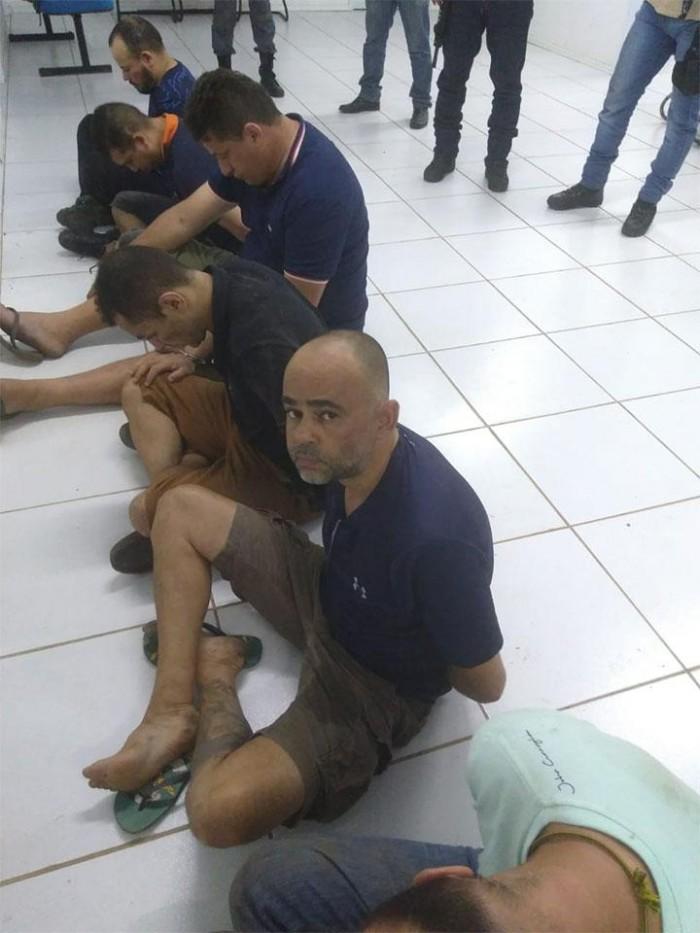 Polícia prende bandidos envolvidos em assalto do BB de Bacabal