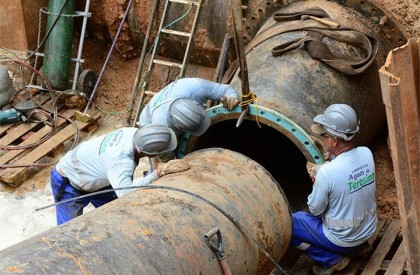 13 bairros ficarão sem água neste fim de semana em Teresina