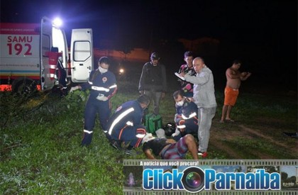 Acidente deixa uma pessoa morta e outra ferida em Parnaíba