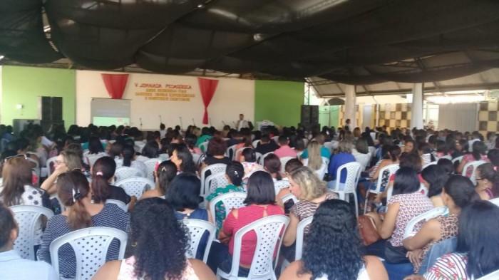 Barras: mais de 450 servidores participam de V Jornada Pedagógica