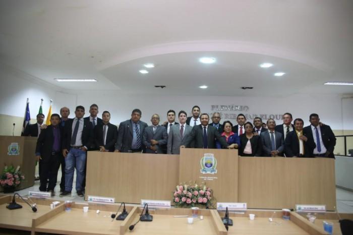 Hélber Costa é eleito Presidente da Câmara dos Vereadores em Timon