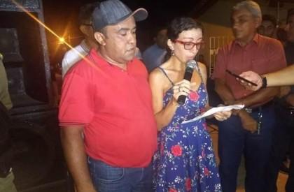 Inauguração: moradores agradecem por obra de calçamento no Bairro Paulo VI