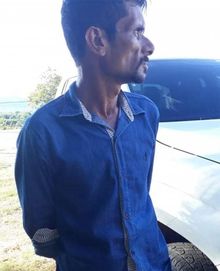 Polícia prende traficante armado em Cristino Castro