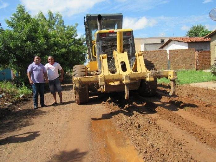 Quatro bairros de Campo Maior serão contemplados com 14 mil metros de calçamento