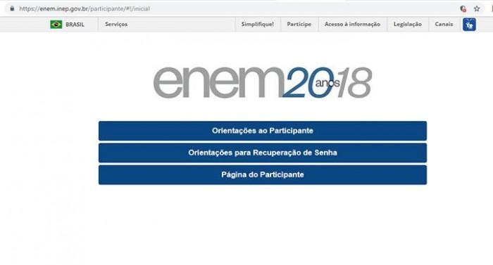 Resultados do Enem já estão disponíveis no site do Inep
