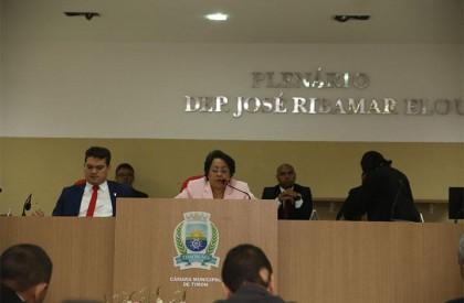 Timon vota orçamento municipal e define data da eleição da Câmara