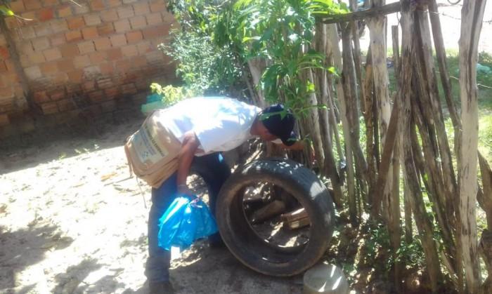 Barras: Secretaria de Saúde realiza arrastão de combate ao Aedes Aegypti
