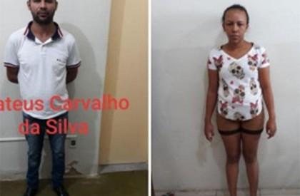 Casal acusado de estelionato é preso em Floriano