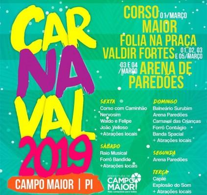 Corso de Campo Maior 2019 terá premiação...