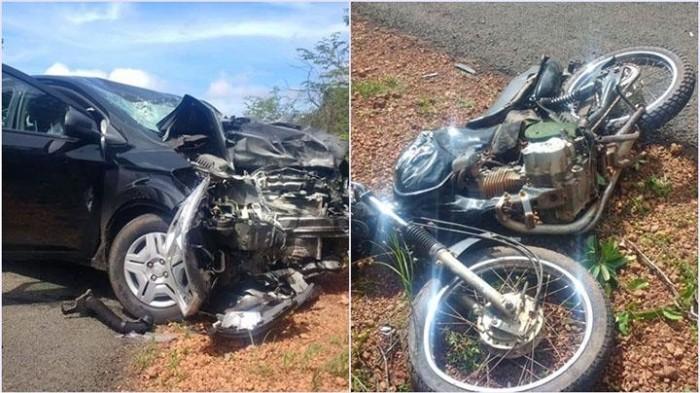 Acidente: motociclista morre após colisão com carro na PI-216