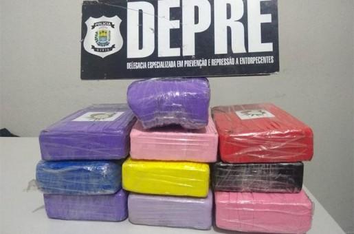 Operação: DEPRE apreende 10kg de cocaína em Parnaíba