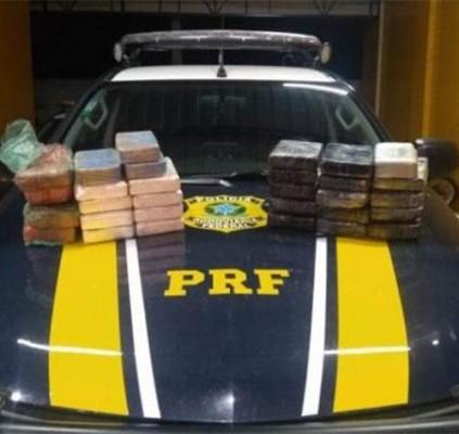 Polícia apreende mais de 32 kg de...