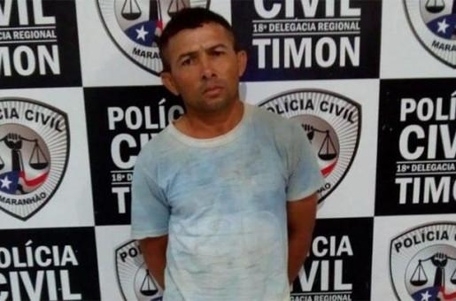 Polícia prende homem acusado de estuprar enteada durante 10 anos