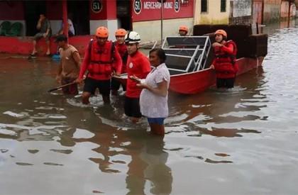 120 famílias estão desabrigadas após chuvas no litoral do Piauí