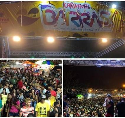 Carnaval de Barras é sucesso no norte...