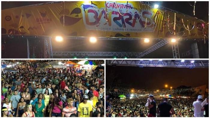 Carnaval de Barras é sucesso no norte do estado