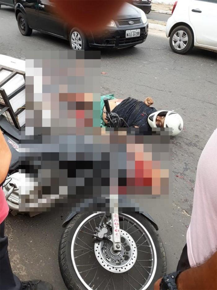 Homem morre após ser esmagado por carreta em Teresina