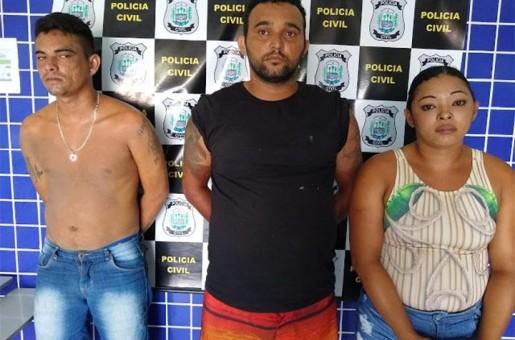 Polícia deflagra operação de combate ao tráfico de drogas e prende 3 pessoas em Parnaíba