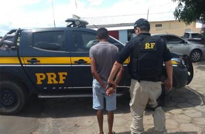 PRF prende homem armado em Redenção do Gurguéia
