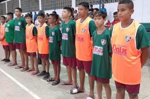 Projeto Escolinha de futebol do Fluminense é lançada em Barras