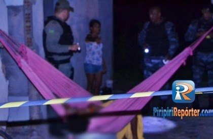 Crime: artesão é executado a tiros em Piripiri