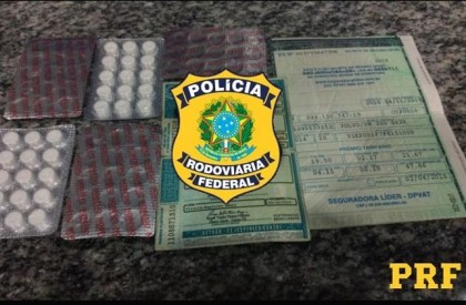 Homem é autuado por porte de droga para consumo na BR 316