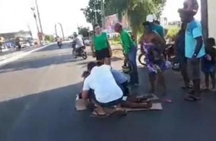 Idosa morre após ser atropelada por motocicleta em Floriano
