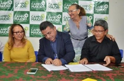 Prefeito Ribinha sanciona Projeto de Lei de plano de Cargos, Carreiras e Salários dos servidores