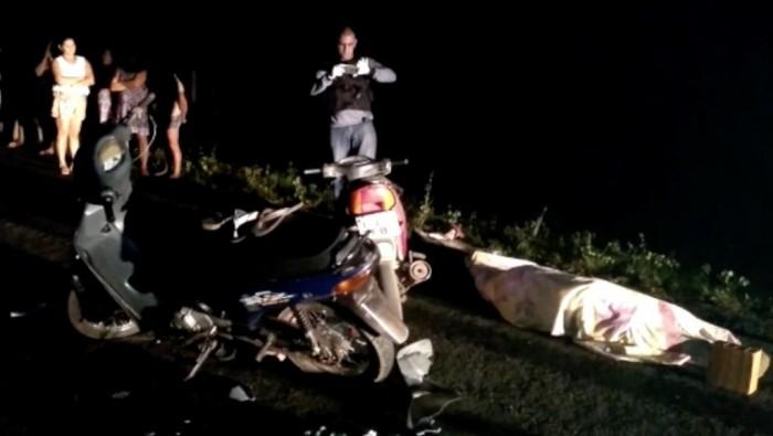 Colisão deixa uma pessoa morta e duas feridas em Cocal dos Alves