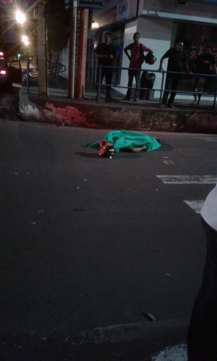 Homem morre após ser atropelado na zona Leste de Teresina