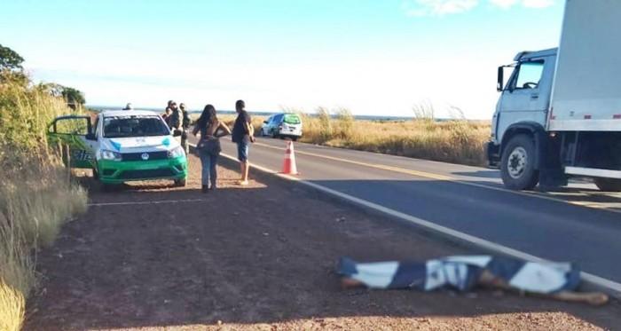 Acidente: homem morre e amigo é executado ao pedir ajuda na BR-135