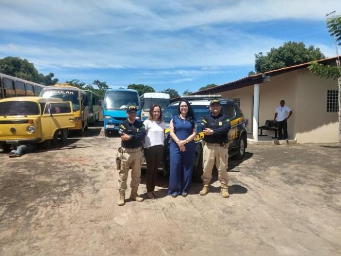 MPPI realiza inspeção no serviço de transporte escolar em Lagoa do Piauí
