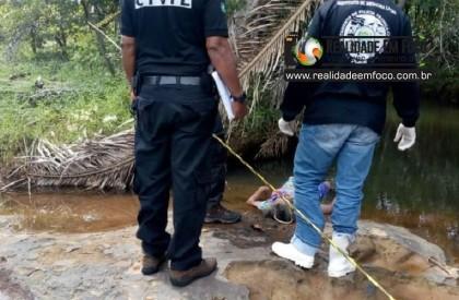 Mulher é encontrado morta dentro de riacho em José de Freitas