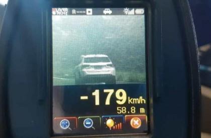 Operação: PRF flagra veículos a 179 KM/H na BR...