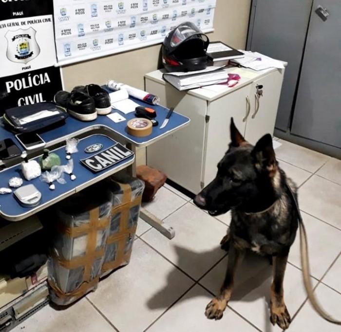 Polícia prende homem acusado de tráfico de drogas em Picos
