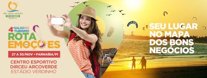 4º Salão do Turismo Rota das Emoções inicia nesta quarta-feira(27)